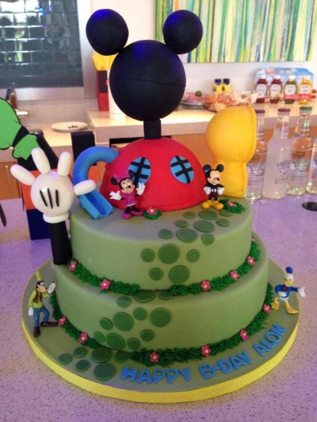 Mickey Mouse Birthday Cake Chefnessbakery