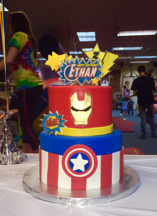Avenger Marvel Birthday Custom Cake Chefnessbakery