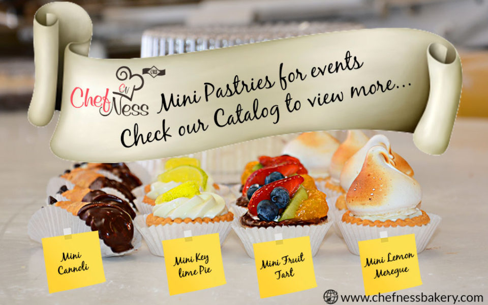 mini pastries chefness bakery kosher food