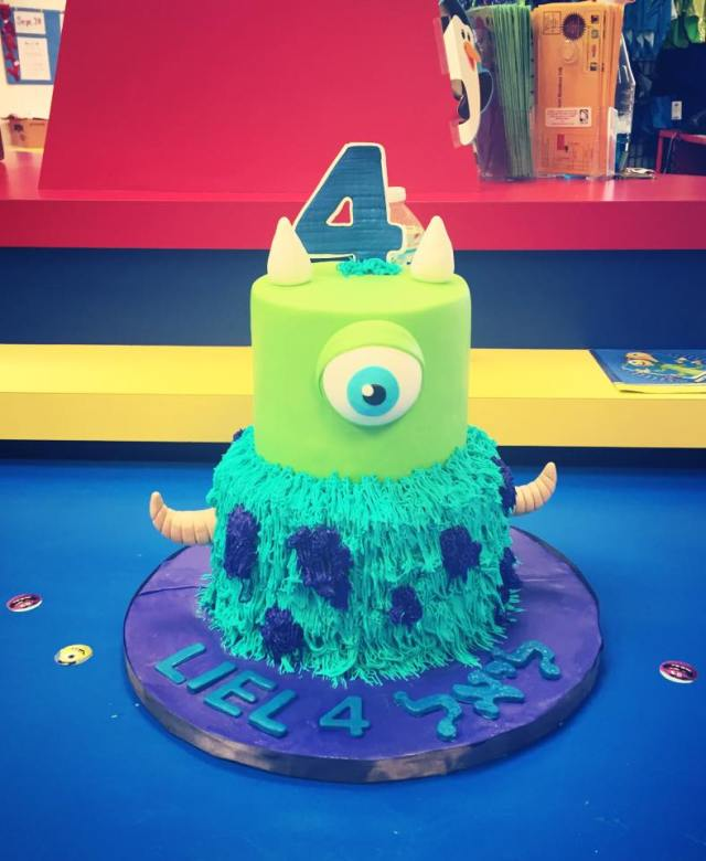 monster inc custom cake happy birthday