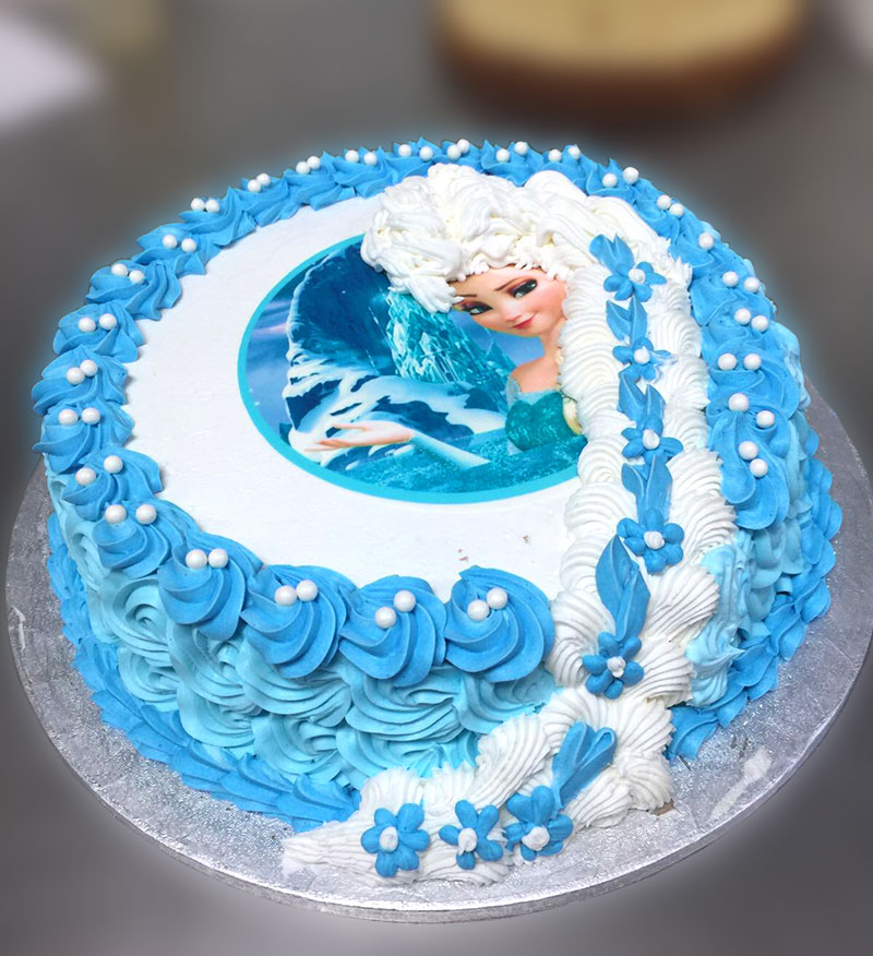 Frozen Custom Kosher Cake