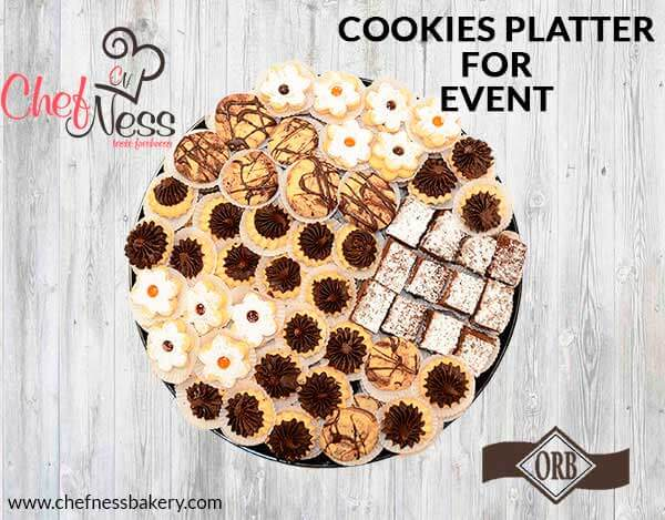chocolate-cookies-platter-chefness-bakery-kosher-cookies