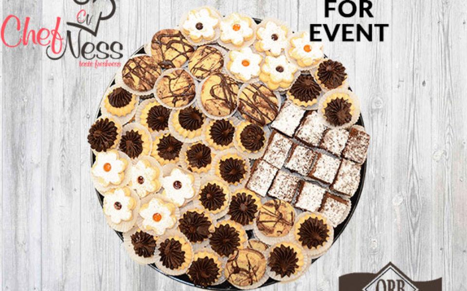 cookies platter chefness bakery