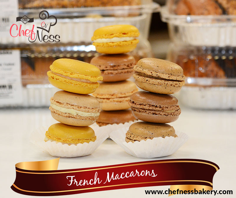 maccarons cookies chefness bakery