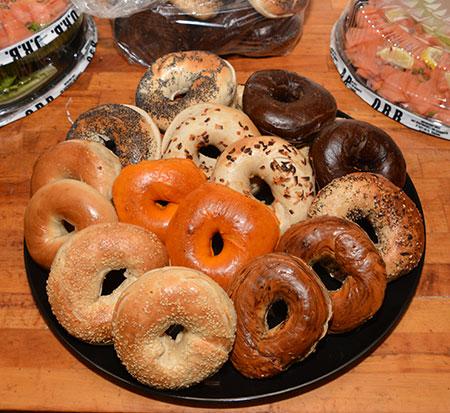 bagels platter