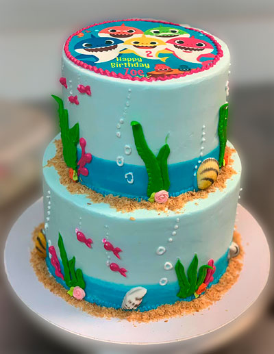 Superb Beach Custom Cake Chefnessbakery Personalised Birthday Cards Arneslily Jamesorg