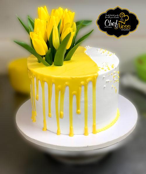 flower-custom-kosher-cake-chefness-bakery