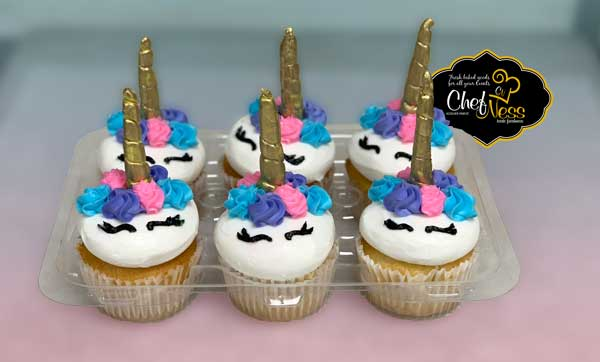 cup-cake-unicorn-chefness-kosher-bakery