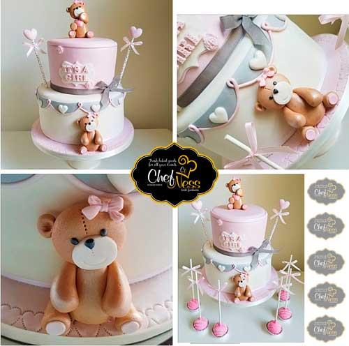 bear custom kosher cake